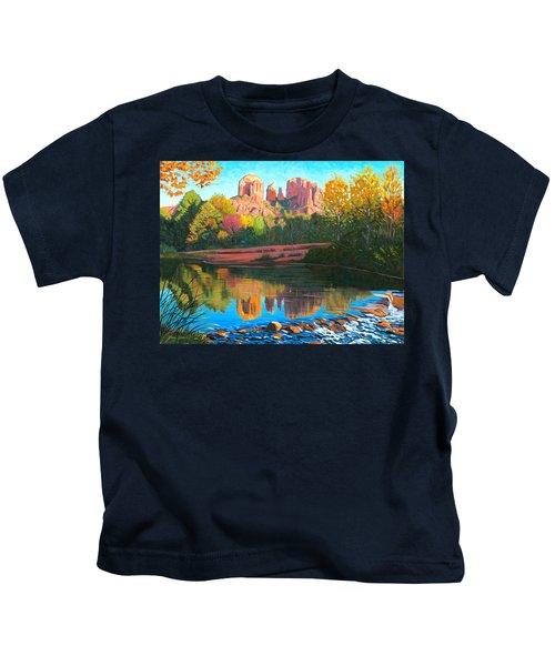 Cathedral Rock - Sedona Kids T-Shirt