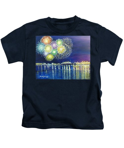 Celebrating In The Lbc Kids T-Shirt