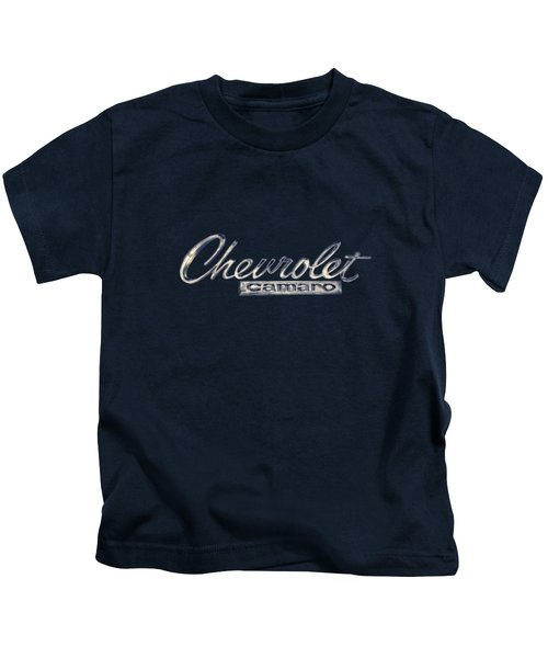 Chevrolet Camaro Badge Kids T-Shirt