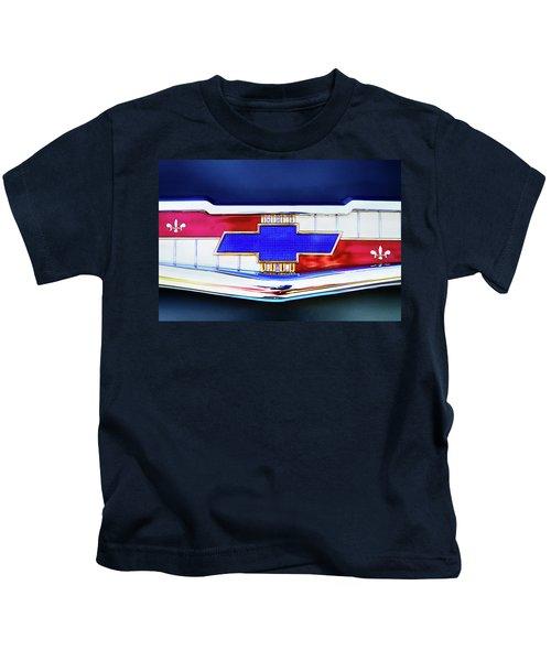 Chevy's Fifties Bowtie Kids T-Shirt