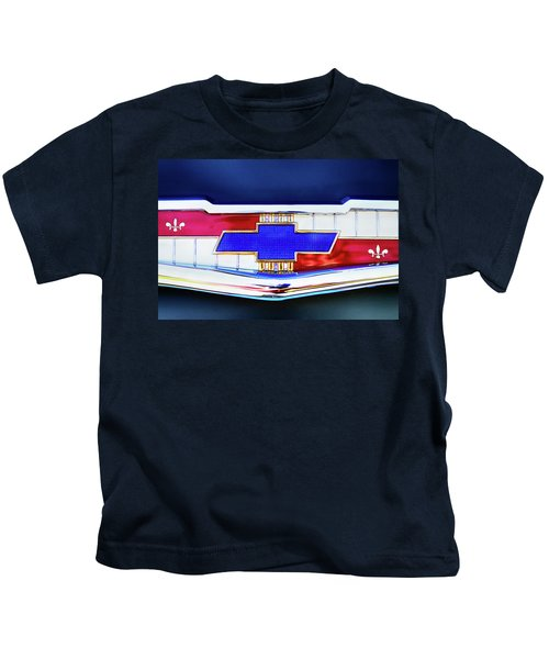 Chevy's Fifties Bowtie Kids T-Shirt