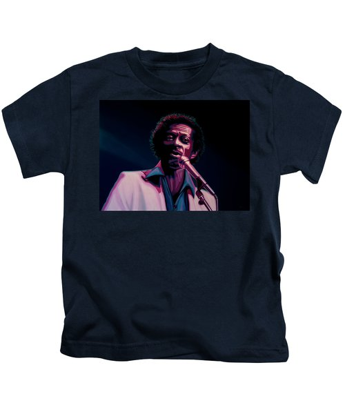 Chuck Berry Kids T-Shirt by Paul Meijering