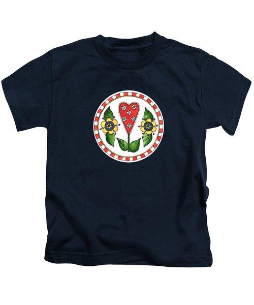 Circles Of Love Kids T-Shirt