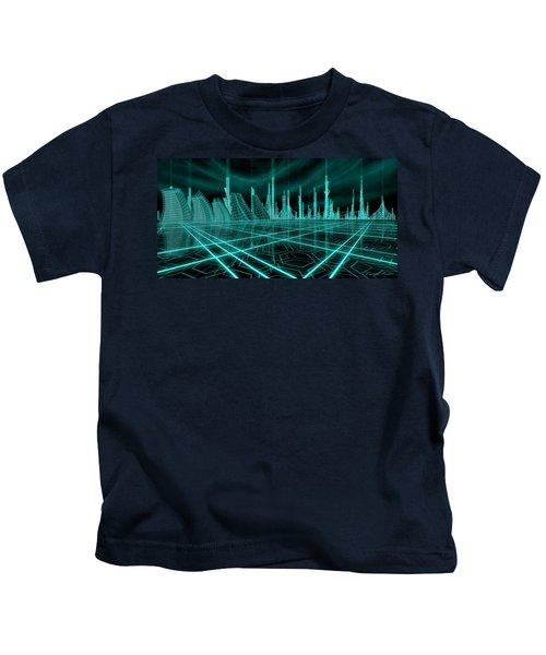 Cityscape 2010 Alpha Kids T-Shirt