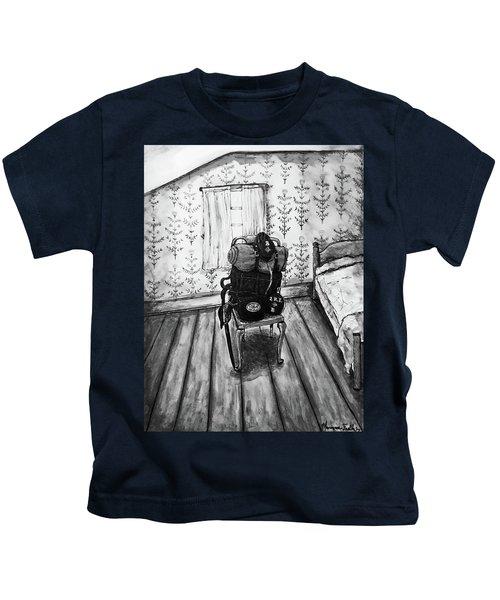 Rhode Island Civil War, Vacant Chair Kids T-Shirt