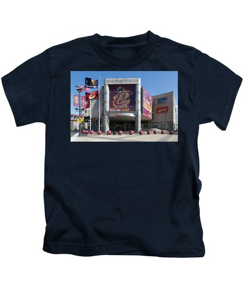 Cleveland Cavaliers The Q Kids T-Shirt