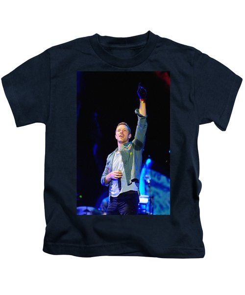 Coldplay8 Kids T-Shirt by Rafa Rivas
