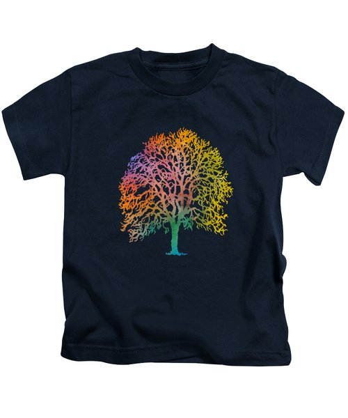 Color Abstract Painting Kids T-Shirt