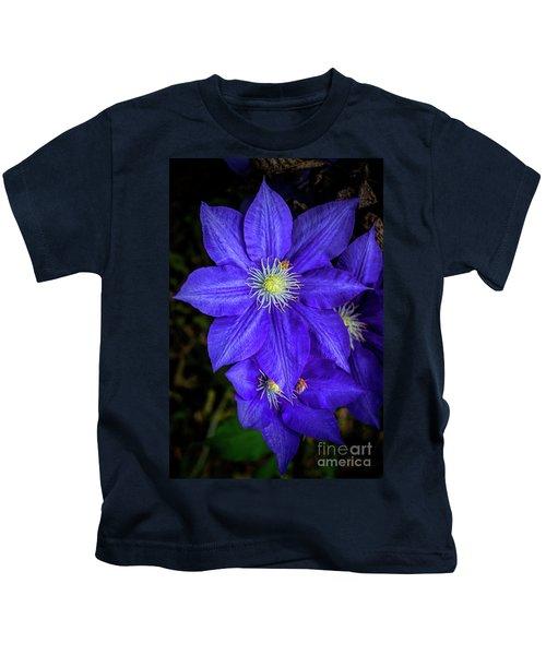 Color Me Purple Kids T-Shirt