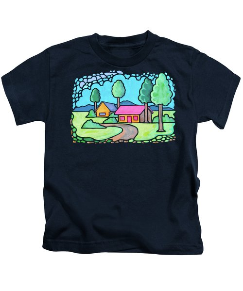 Houses And Trees Kids T-Shirt