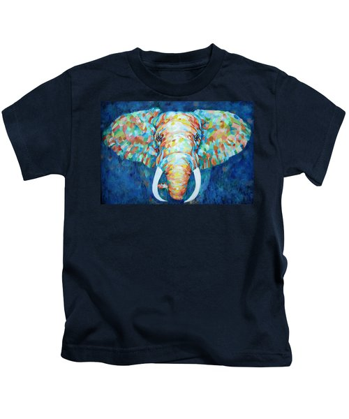 Colorful Elephant Kids T-Shirt