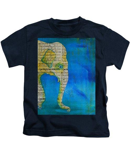 Come Rain Or Come Shine Kids T-Shirt