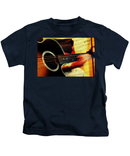 Composing Hallelujah. Music From The Heart  Kids T-Shirt