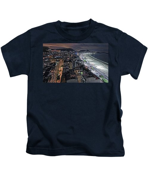 Copacabana Lights Kids T-Shirt