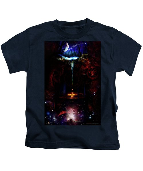 Creation Of Time Kids T-Shirt