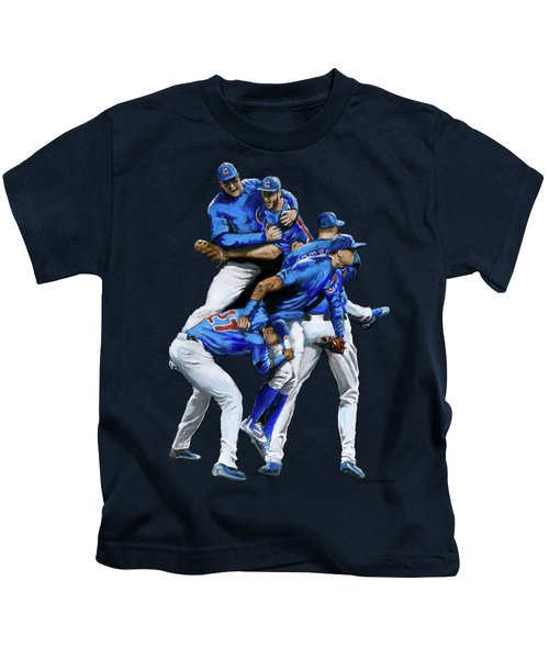 Cubs Win Kids T-Shirt