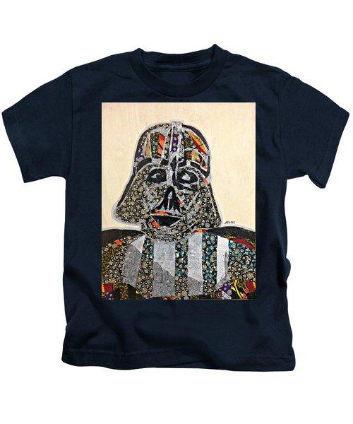 Darth Vader Star Wars Afrofuturist Collection Kids T-Shirt