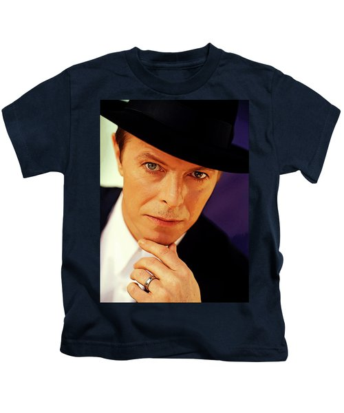 David Bowie As An Average Everyman Kids T-Shirt