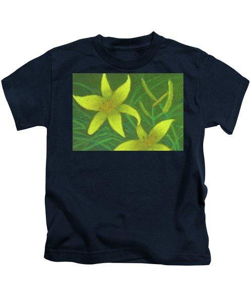 Day Lilies Kids T-Shirt