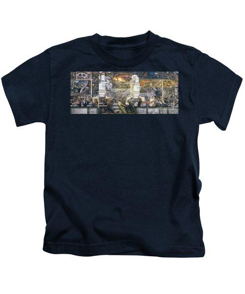 Detroit Industry   North Wall Kids T-Shirt