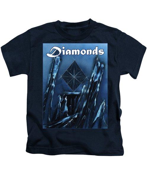 Diamonds Suit Kids T-Shirt