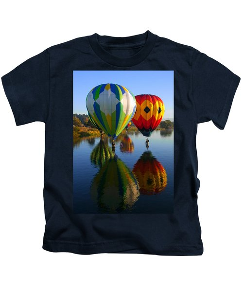 Dipping The Basket Kids T-Shirt