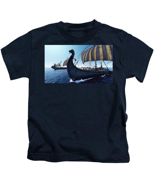 Drakkar - 01 Kids T-Shirt