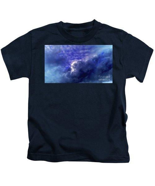 Dramatic Cumulus Sky Kids T-Shirt