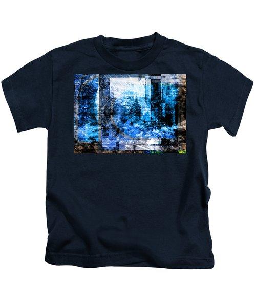 Dreams At A Vintage Cafe Kids T-Shirt