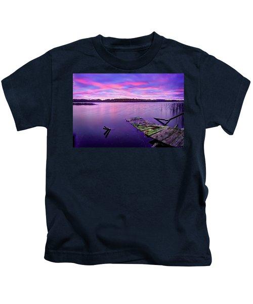 Dreamy Sunrise Kids T-Shirt