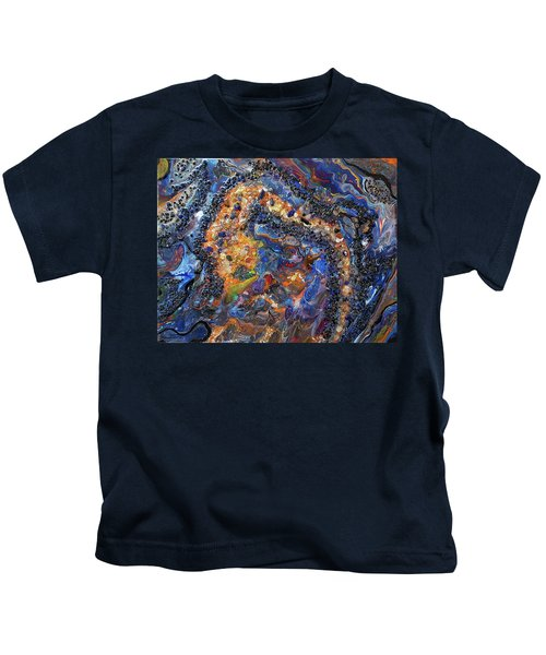 Earth Gems #18w01 Kids T-Shirt
