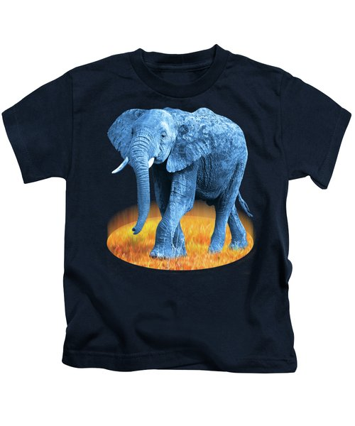 Elephant - World On Fire Kids T-Shirt