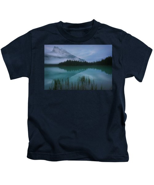 Emerald Lake Before Sunrise Kids T-Shirt