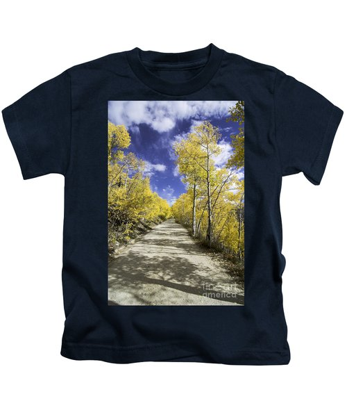 Fall On Boreas Pass Kids T-Shirt