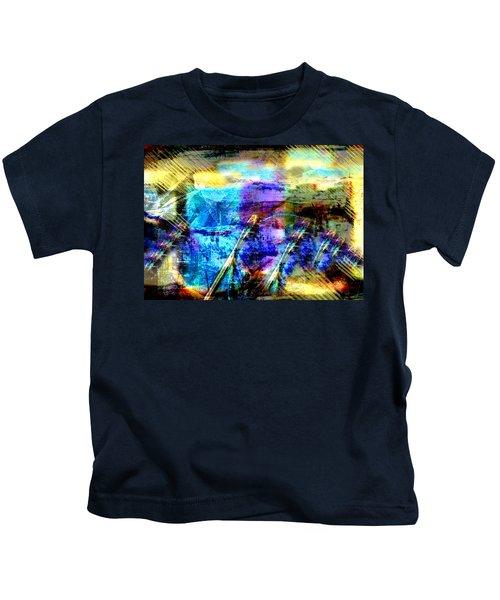 Falling Drop Kids T-Shirt