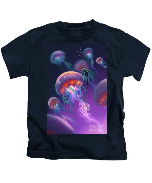 Fantasy Underworld Kids T-Shirt