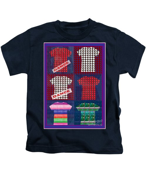 Fashion Couture Experts Designers Textures Beads Jewels T-shirt Show Buy Wall Art Interior Decoratio Kids T-Shirt by Navin Joshi