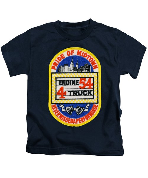 F.d.n.y. - Engine 54, Ladder 4, Fire Department New York  Kids T-Shirt