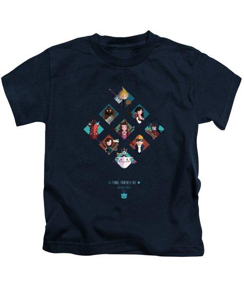 Ff Design Series Kids T-Shirt by Michael Myers