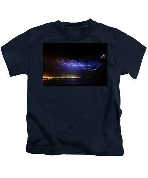 Fingers Across The Lake Kids T-Shirt
