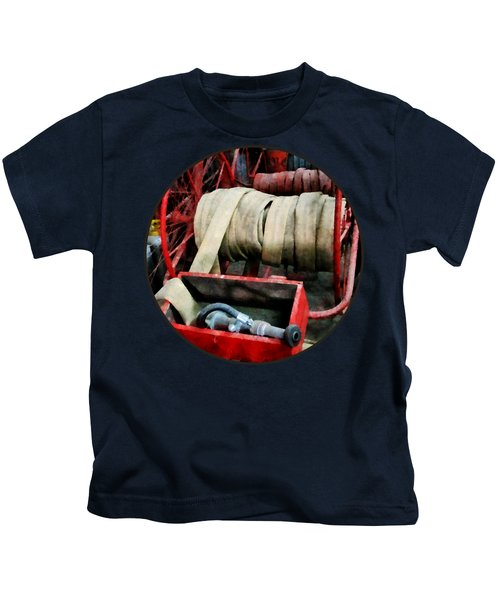 Fireman - Fire Hoses Kids T-Shirt