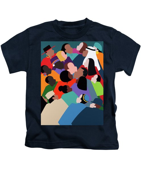 First Family The Obamas Kids T-Shirt