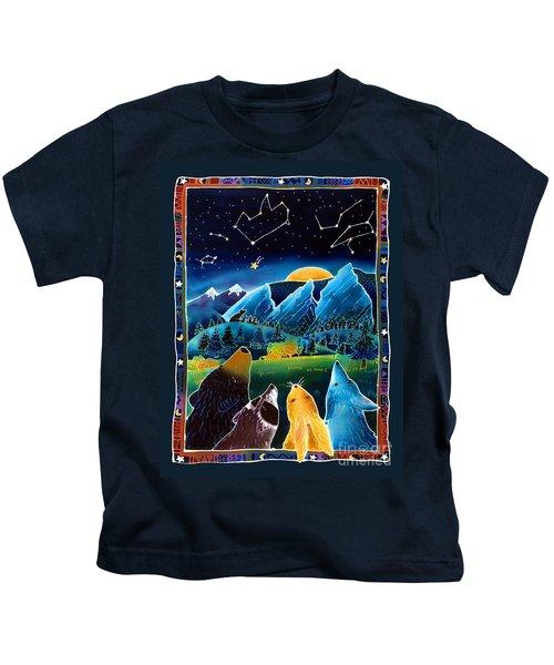 Flatirons Stargazing Kids T-Shirt