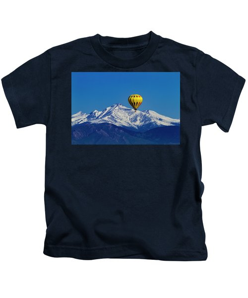 Floating Above The Mountains Kids T-Shirt