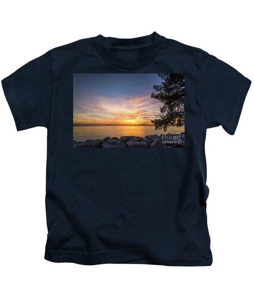 Florida Sunset #3 Kids T-Shirt