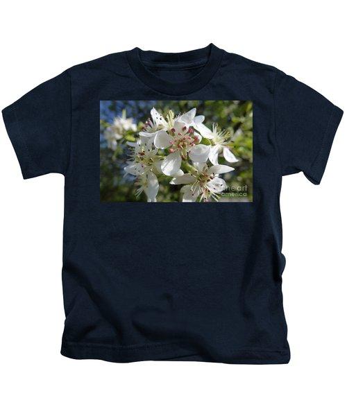 Flowering Of White Flowers 2 Kids T-Shirt