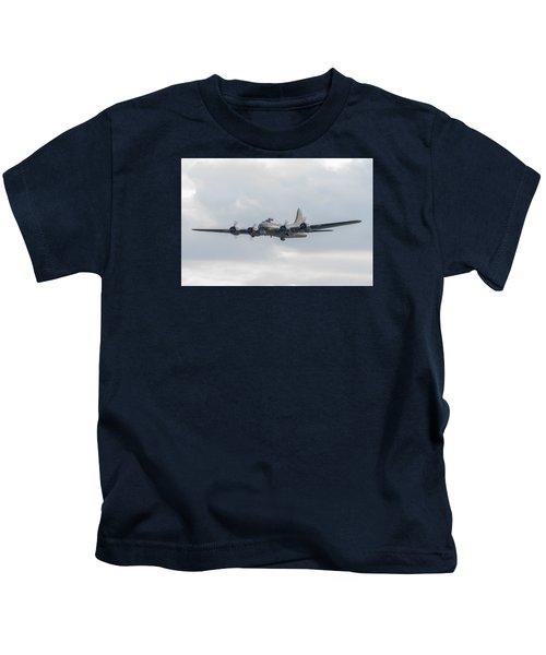 Flying Fortress Sally B Kids T-Shirt