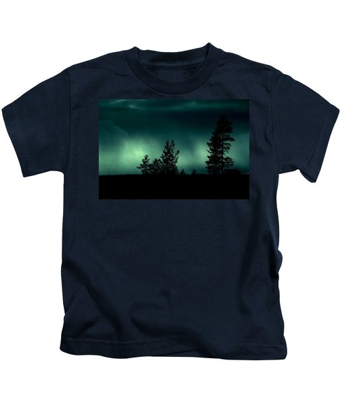 Foggy Night Kids T-Shirt