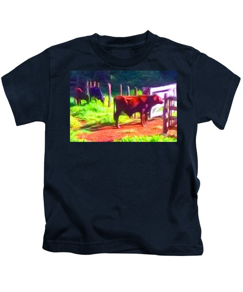 Franca Cattle 2 Kids T-Shirt