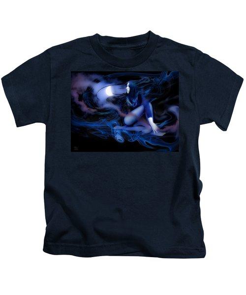 Fran's Ecliptic Moon Kids T-Shirt